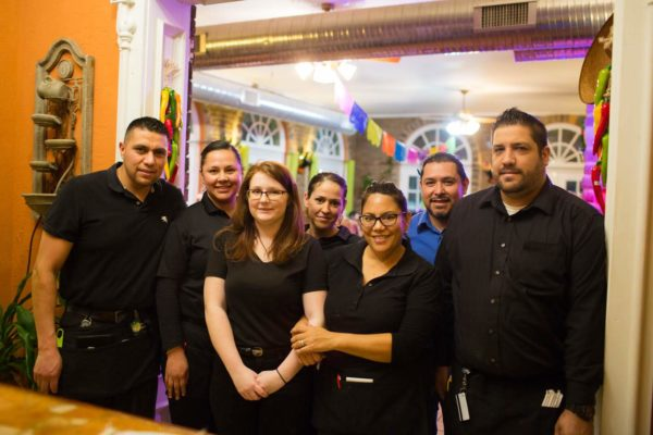 Welcome to Maria's - Photo of waiters and waitresses.